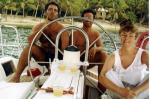 1994 Virgin Islands - three of us (2)